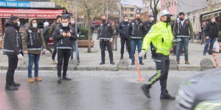 İstanbul Kemerburgaz'da uyuşturucu denetimi gerçekleştirildi