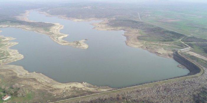 Kuraklıktan ilk yırtan il Edirne oldu. 3 gün yağmur yağdı 1 yıllık suyunu depoladı