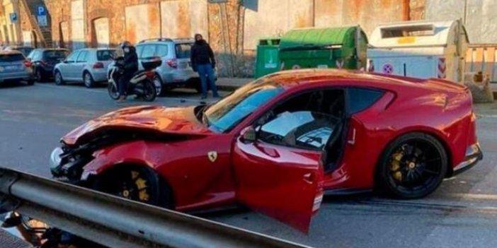 İtalyan kaleci Federico Marchetti'ye kötü haber. Lüks Ferrarisi'ni yıkamaya verdi bakın neler oldu