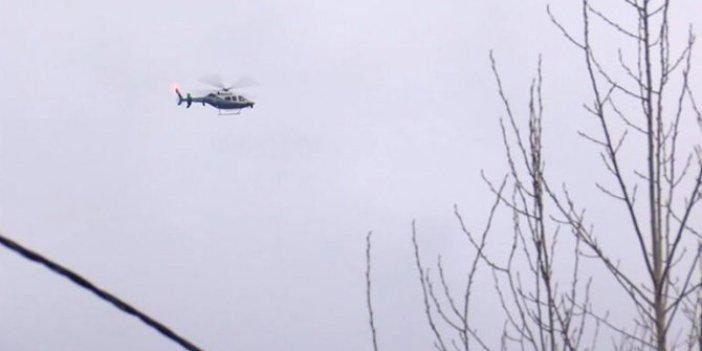 İstanbul'da helikopter düştü paniği. Her yerde aradılar!
