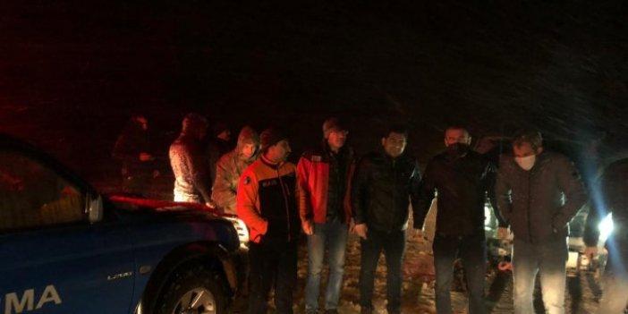 Kahramanmaraş'ta 2 kişi yoğun kar nedeniyle yaylada mahsur kaldı