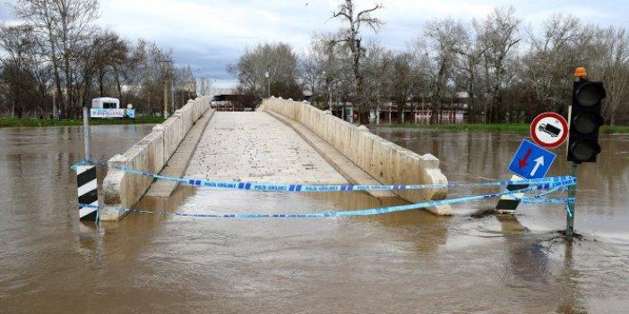 AFAD Meriç ve Tunca Nehri için uyarıyor