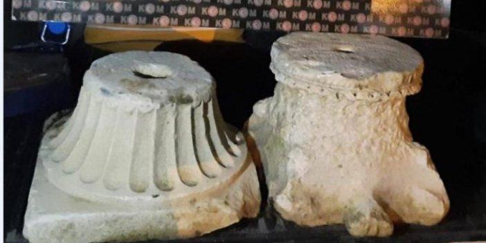 Kütahya'da Bizans Dönemi'ne ait eserler ele geçirildi