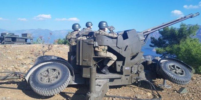 Kalkan ve Sentinel ile TSK'dan İzmir'de hava savunma tatbikatı