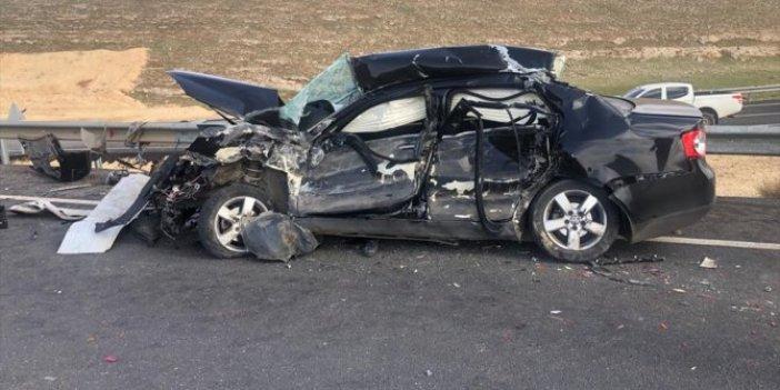 Şanlıurfa'da trafik kazası: Baba ve oğul hayatını kaybetti