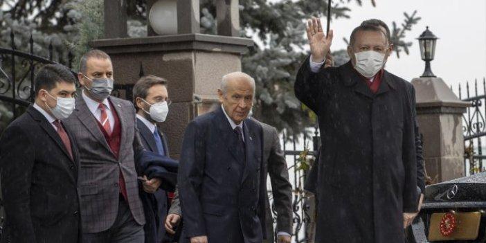 Erdoğan'ın Saadet Partisi'ne ittifak ziyaretinin ardından Devlet Bahçeli'den flaş çıkış