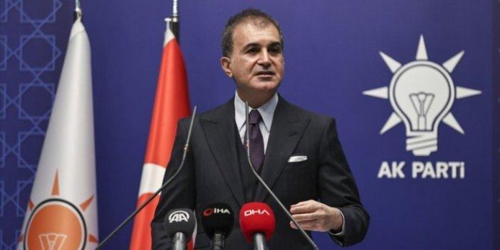 AKP Sözcüsü Ömer Çelik'ten önemli açıklamalar