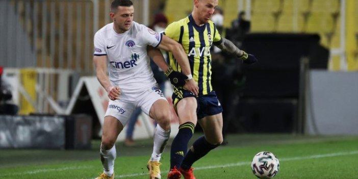 Çeyrek finale adını yazdıran son takım Fenerbahçe oldu.  Kasımpaşa maçında suskun golcüden kafa golü