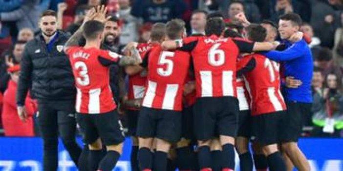 Athletic Bilbao finale yükseldi