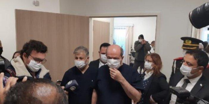 KKTC'de ilk korona virüs aşısı Cumhurbaşkanı Tatar'a yapıldı
