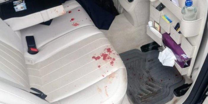Gelecek Partili Selçuk Özdağ'a saldırı. Arabası kan gölüne döndü. Hastaneden ilk görüntüler!