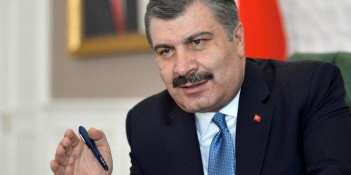 Bakan Fahrettin Koca'dan Devlet Bahçeli'ye teşekkür