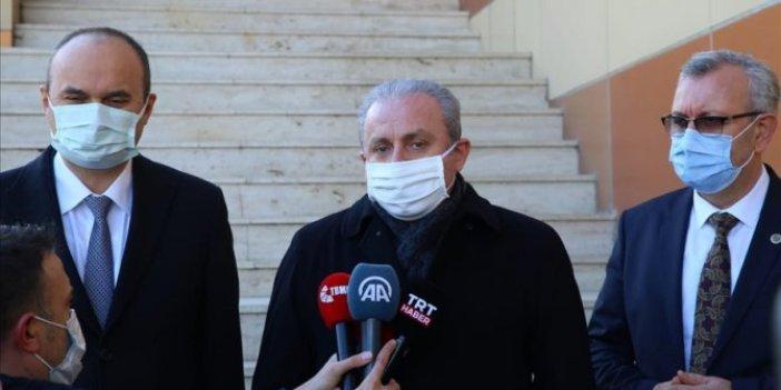 TBMM Başkanı MustafaŞentop'tan aşı açıklaması