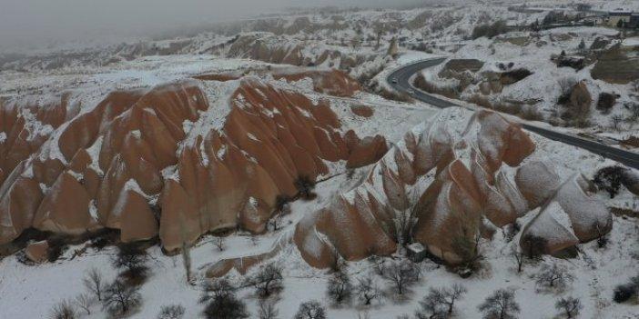 Kapadokya'da enfes görüntüler