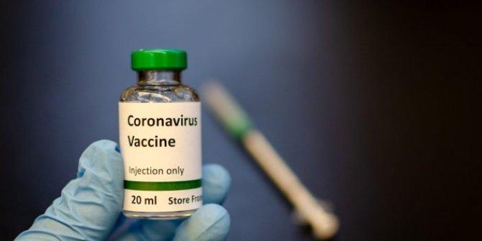 Korona aşısı ile ilgili flaş gelişme