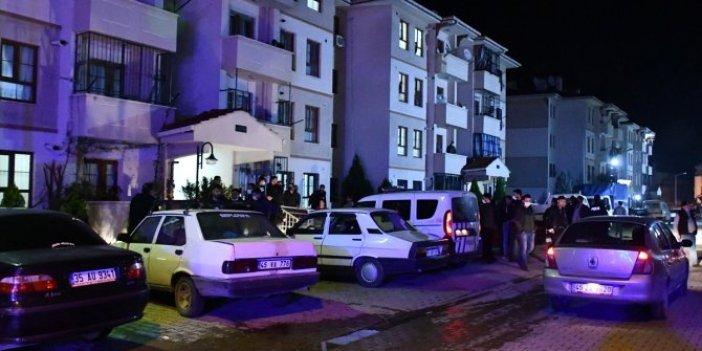 Alarm verildi çok sayıda polis, olay yeri inceleme sağlık ekipleri adrese yönlendirildi