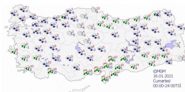 İstanbul'da beklenen karın kalınlığı açıklandı.Meteoroloji'den son dakika uyarısı