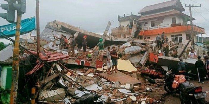 Endonezya'daki depremde ölenlerin sayısı 46'ya yükseldi