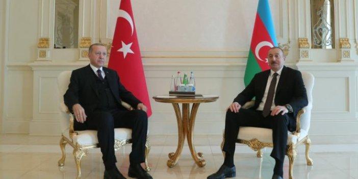 Erdoğan Aliyev ile telefonda görüştü
