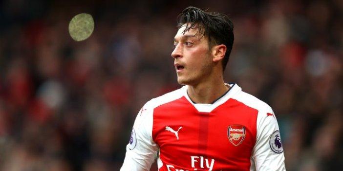 Mesut Özil yine heyecanlandırdı