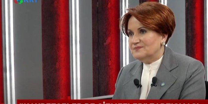 Meral Akşener Erdoğan'la sistem pazarlığı yaptı mı? Canlı yayında açıkladı