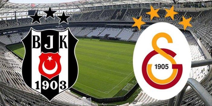 Süper Lig'de Beşiktaş Galatasaray derbisi için nefesler tutuldu. Devler liderlik için sahada