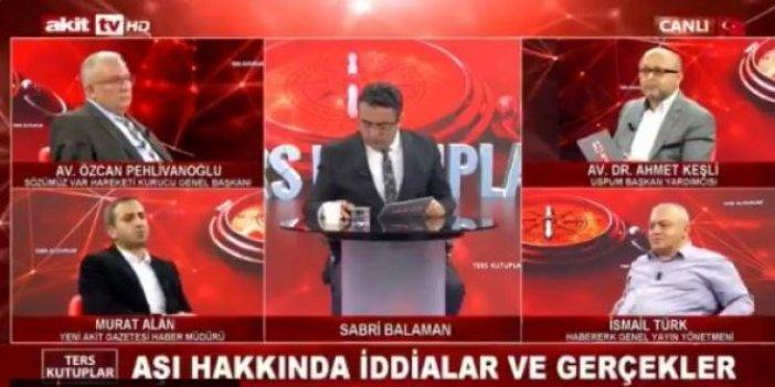 Yeni Akit'in haber müdürü Murat Alan'dan koronayla savaşan sağlıkçılara skandal sözler. Yer yerinden oynadı