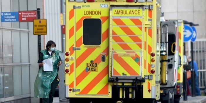 İngiltere'de her 30 saniyede bir hastanelere korona vakası kabul ediliyor