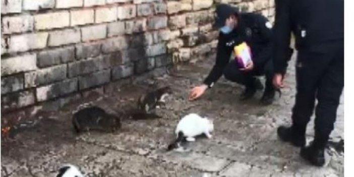 Eminönü'ndeki canları polis unutmadı