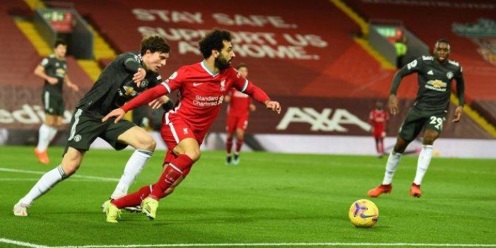 Liverpool, Manchester United karşısında fırsatı kaçırdı
