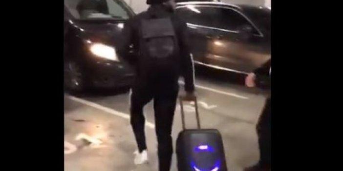 """N'Koudou'nun müzikli ve ışıklı bavulu nerede satılır ve kaç para. Beşiktaşlılar """"bizde sakat çok"""" diyerek paylaştı"""