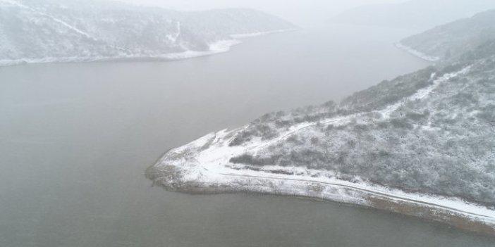 Baraj belgelerine kar yağdı mı. İstanbullu bu sorunun yanıtını merak ediyor