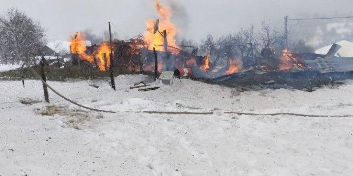 Kastamonu'da yangın