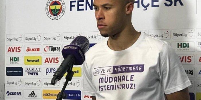 Fenerbahçe'den futbolculardan maç sonu yayıncı kuruluşa tepki