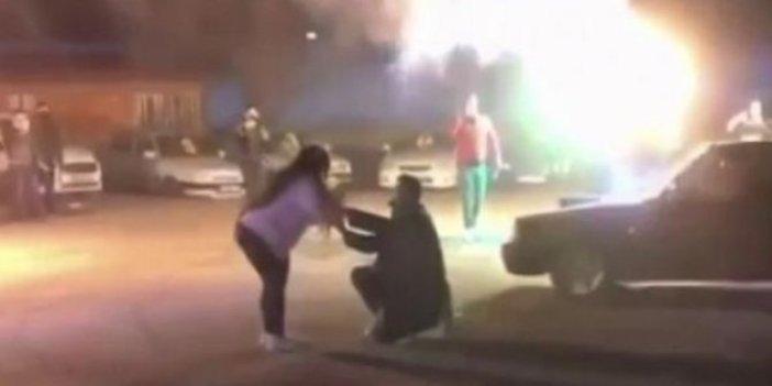 Antalya'da sürpriz evlilik teklifi pahalıya patladı. Jandarma cezayı kesti