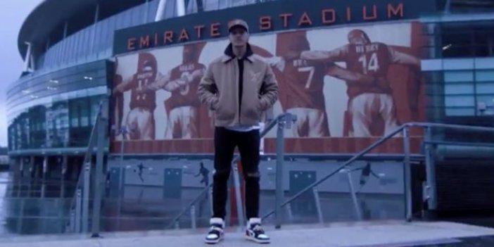 Mesut Özil Arsenal'e böyle veda etti