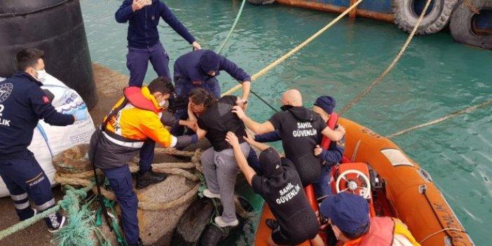 Sahil güvenlik hayat kurtardı