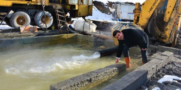 Muş'ta 860 metre derinlikte jeotermal kaynak bulundu