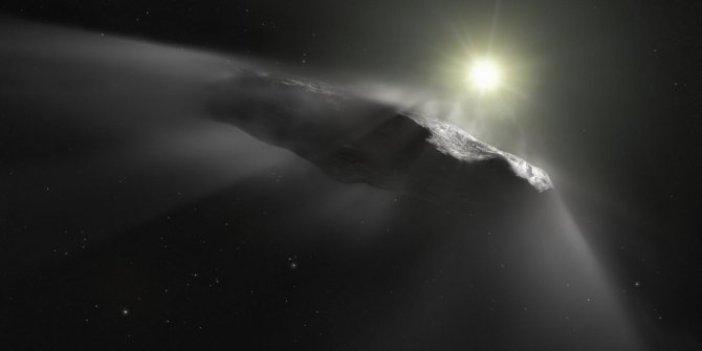Uzaylılar ışık yelkenlisiyle dünyamızı gözlemledi. NASA da doğruladı