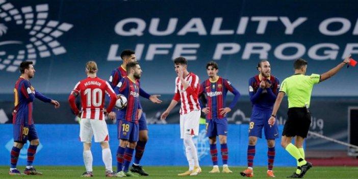 Messi, iki maç men cezası aldı