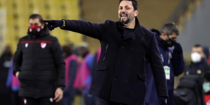 Fenerbahçe Teknik Direktörü Erol Bulut ifade verdi