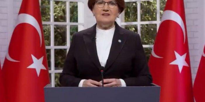 İYİ Parti Genel Başkanı Meral Akşener son konuşmasını yeniden gündeme getirdi