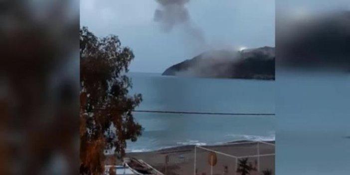 Akkuyu Nükleer Santrali'nde patlama. Patlama korku yarattı evler hasar gördü