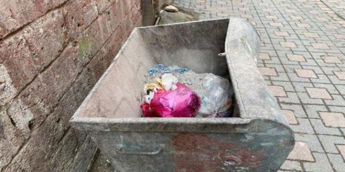 Diyarbakır'da vicdansızlık. Çöp konteynerinde yeni doğmuş bebek bulundu