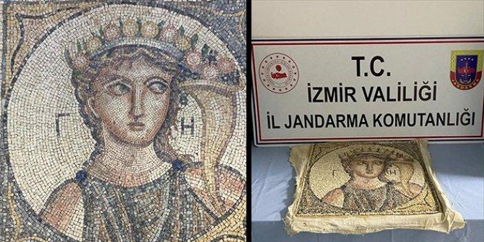 İzmir'de satışa hazır halde yakalandı. Tam 2 bin yıllık ve Roma dönemine ait