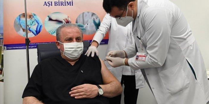 TBMM Başkanı Şentop korona aşısı yaptırdı