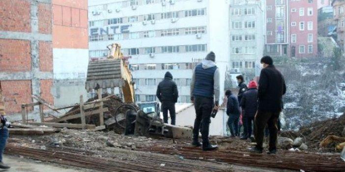 Şişli'de bina sakinleri sokağa döküldü