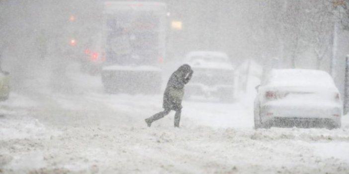 Meteoroloji dikkat diyerek duyurdu. Kar ve fırtına uyarısı
