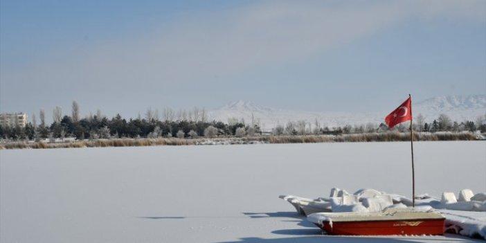 Ulaş Gölü'nde görsel şölen