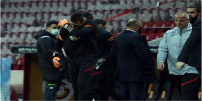 Galatasaray'da Muslera sevinci